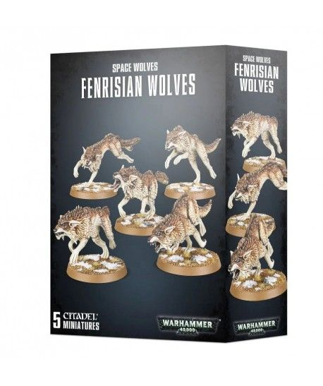 Space Marines - Fenrisian Wolves