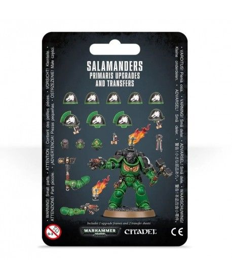 Space Marines - Salamanders Primaris Upgrades and Transfers