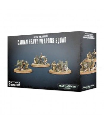 Cadian Heavy Weapon Squad Astra Militarum - 1