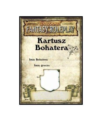 Warhammer Fantasy - Kartusz Bohatera