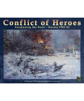 Conflict of Heroes: Awakening the Bear 2nd Edition Wojenne - 1